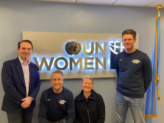 Afbeelding voor Board of GAMES visits United Nations