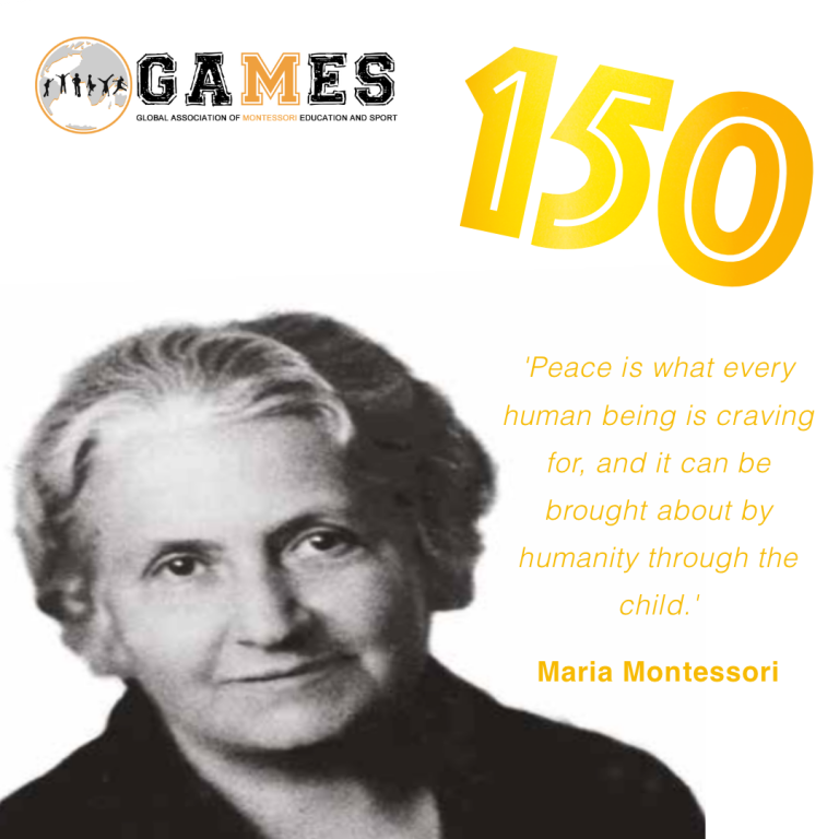Afbeelding voor Celebrating 150 years of Maria Montessori