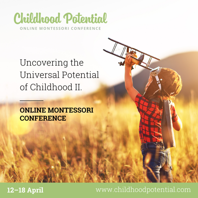 Afbeelding voor Join us at the Childhood Potential Online Montessori Conference
